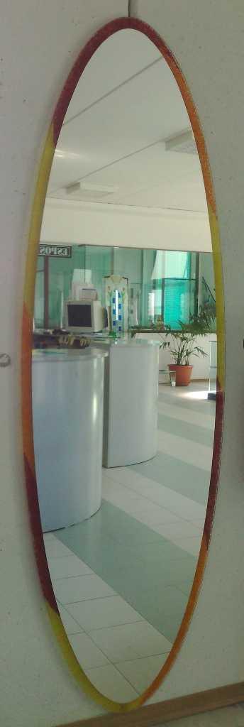 Vetro vetro temperato vetro stratificato vetro decorato for Specchio lungo