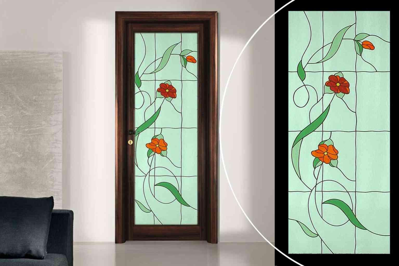 Vetro vetro temperato vetro stratificato vetro decorato - Decorazioni porte interne ...